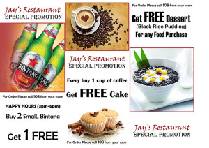 Restaurant Special Promotion